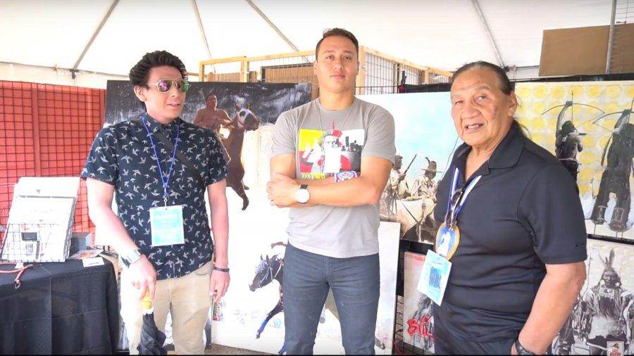 Boye Ladd & Boye Ladd Jr | Indigenous Fine Art Market 2016
