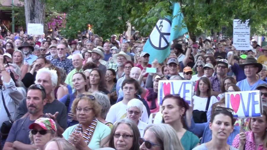 Anti Racism Rally – Santa Fe, New Mexico 2016 August 14
