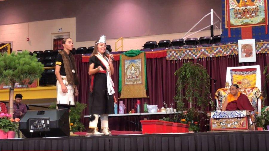 HH Sakya Trichen Rinpoche Cultural Exchange Santa Fe Indian School – Santa Fe, NM