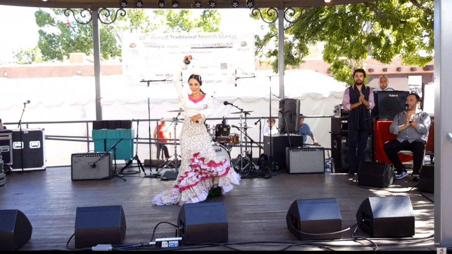 Spanish Market 2019 – Performers   Santa Fe, New Mexico