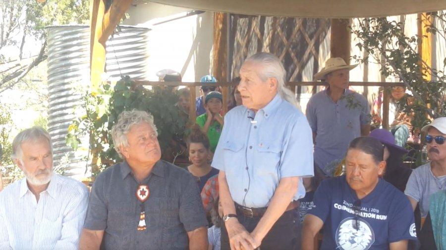 Oren Lyons – Faithkeeper of the Turtle Clan of the Seneca Nations of the Iroquois Confederacy – Santa Fe, NM 2019